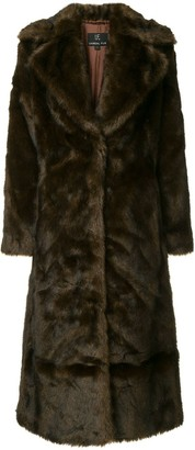 M·A·C Unreal Fur Long Mac coat