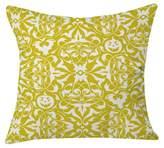 """Deny Designs White Heather Dutton Gothique Glow Throw Pillow (20""""x20"""
