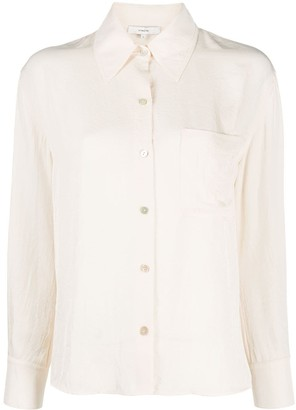 Vince Long-Sleeved Patch Pocket Shirt