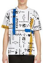 Kenzo Printed Short Sleeve Skate Tee
