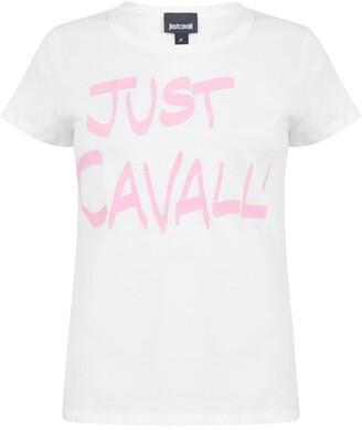 Just Cavalli Logo t Shirt