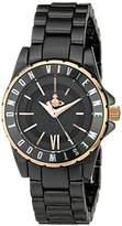 Vivienne Westwood Women's VV088RSBK Knightsbridge II Analog Display Swiss Quartz Black Watch
