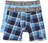 Psycho Bunny Men's Cotton Boxer Brief Gift Set