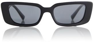 Versace Virtus rectangular sunglasses