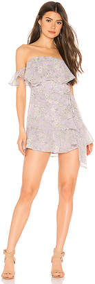 superdown Jolene Ruffle Wrap Dress