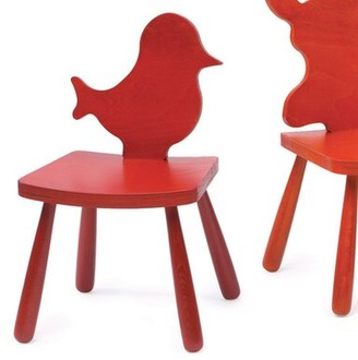 """The Children's Furniture Co. Animal Bird Kids Chair Size: 23"""" H x 14.5"""" W x 14"""" D, Color: Natural"""