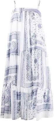 Semi-Couture Empire Line Midi Dress