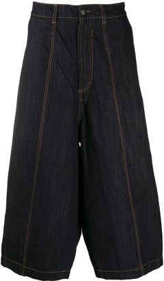 Societe Anonyme Wide-Leg Cropped Jeans