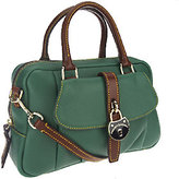 Dooney & Bourke As Is Samba Leather Square Satchel
