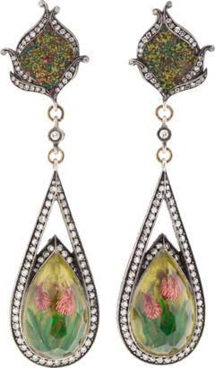 Sevan Biçakci Carved Tulip Mosaic Earrings