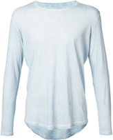 Majestic Filatures fitted knitted top