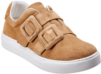 French Sole Evonne Suede Sneaker
