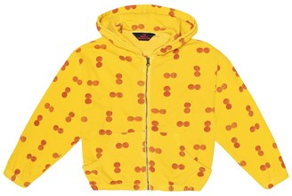 The Animals Observatory Albatross printed cotton hoodie
