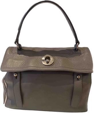 Saint Laurent Muse Two Grey Suede Handbags