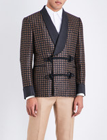 Alexander McQueen Paisley-patterned wool jacket
