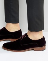 Ted Baker Nierro Velvet Derby Shoes
