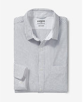 Express soft wash striped shirt