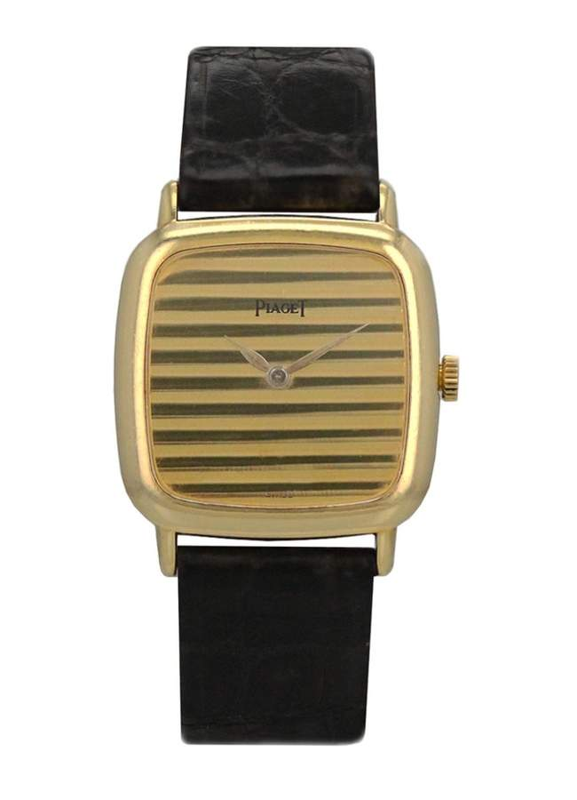 Piaget Vintage Black Yellow gold Watches