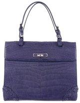 Giorgio Armani Alligator Handle Bag