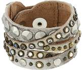 Leather Rock B513 Bracelet