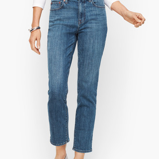 Talbots Modern Ankle Jean - Genuine Medium Wash