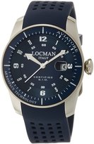 Locman watch Avia Torre pilot watch Quartz Date Men's 0453V02 0453V02-00BLSIB Men's [regular imported goods]
