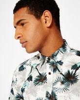 Ted Baker Jungle print cotton shirt