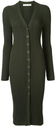 Dion Lee pinnacle pleat cardi dress