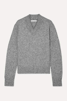 Helmut Lang Melange Knitted Sweater - Gray