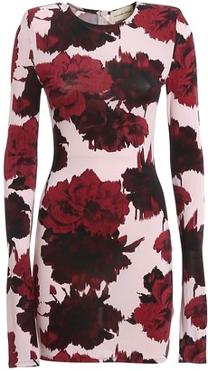 Alexandre Vauthier Floral Printed Bodycon Dress