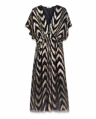 Masscob Astrid Silk Blend Dress Lurex - XS