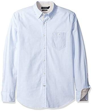 Nautica Men's Oxford Slim Fit Casual Shirt