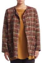 Marina Rinaldi, Plus Size Wool Tweed Jacket