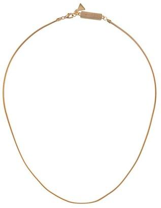 Coup De Coeur Snake Chain Necklace