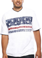 Lee Short-Sleeve Freedom Tee - Big & Tall