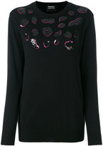 Markus Lupfer sequined jumper - women - Wool - XS