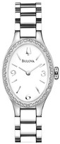 Bulova Women's Winslow Diamond Quartz Watch - 0.30 ctw