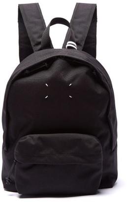 Maison Margiela Stereotype Canvas Backpack - Black