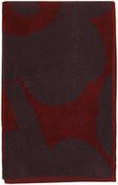 Marimekko Unikko Towel - Red/Plum - Bath Towel