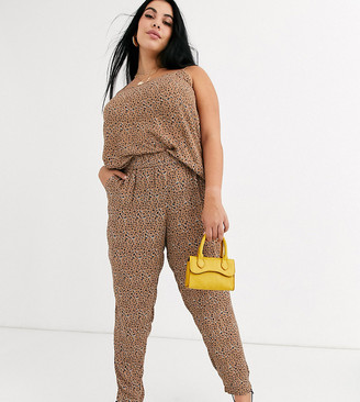 Junarose leopard print pants