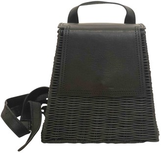 Wicker Wings Black Wicker Backpacks