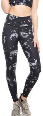 Mono B Black Rose Leggings