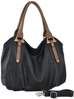 MG Collection Mimi Tote Slouchy Hobo Convertible Shoulder Bag