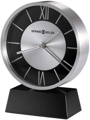 Howard Miller Davis, Contemporary Modern, Sleek, and Chic, Bold Style Table Clock, Reloj de Mesa