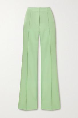 Victoria Victoria Beckham Victoria Twill Wide-leg Pants - Mint