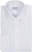 Duchamp Clyde Floral Jacquard Tailored Fit Shirt, White
