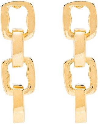 Kenneth Jay Lane Chain Earrings