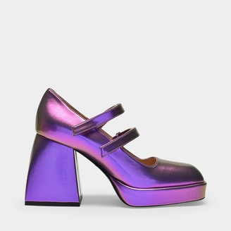 Nodaleto Bulla Babies In Purple Polyurethane