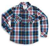 Appaman Toddler's, Little Boy's & Boy's Flannel Cotton Collared Shirt