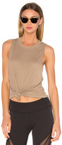 Alo Heat Wave Tank in Olive. - size M (also in )